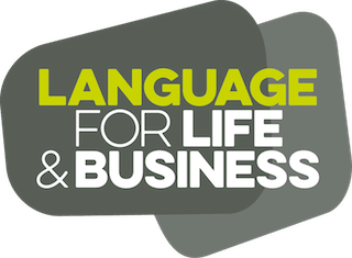 Language for Life and Business Logo