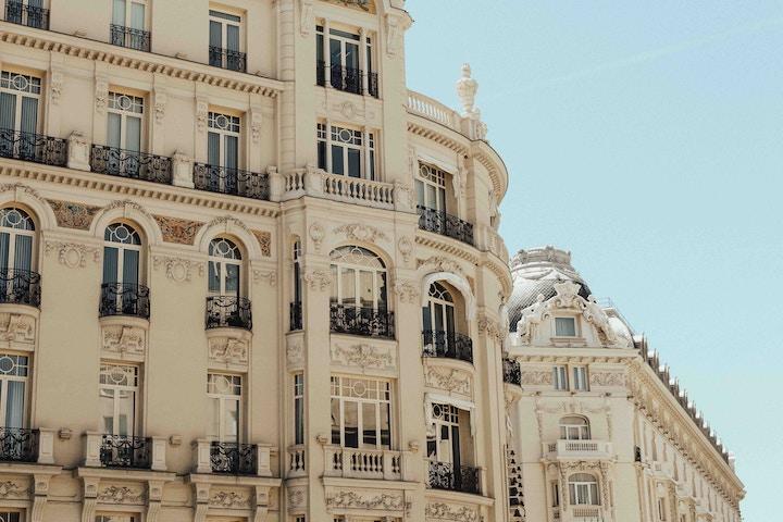Romantic Spanish architecture