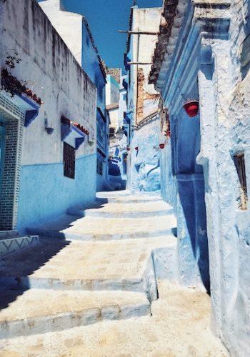 Beautiful Greek island village